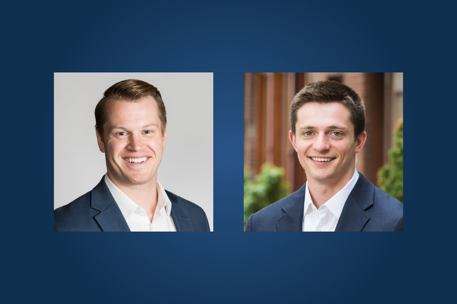 Tom Baxter and Alexander Lesley Promoted from Analyst to Associate