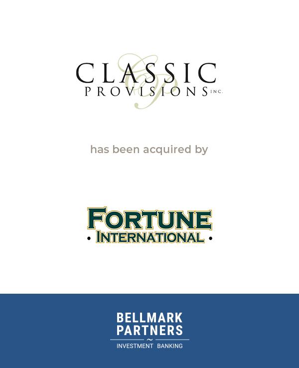 Classic Provisions Inc