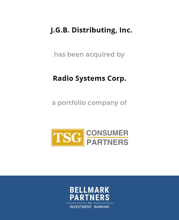 JGB Distributing